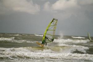 Windsurfen Brandung Nordsee